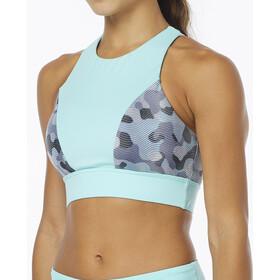 TYR Lavare Amira Bikini Top Dame grey/mint